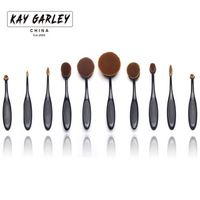 Makeup Brushes & Tools and Accessories, 10 pieces cosmetic brush set,cosmetic brush natural eco-friendly bamboo handle series