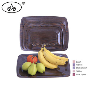 High quality stock wooden bamboo cheese serving tray