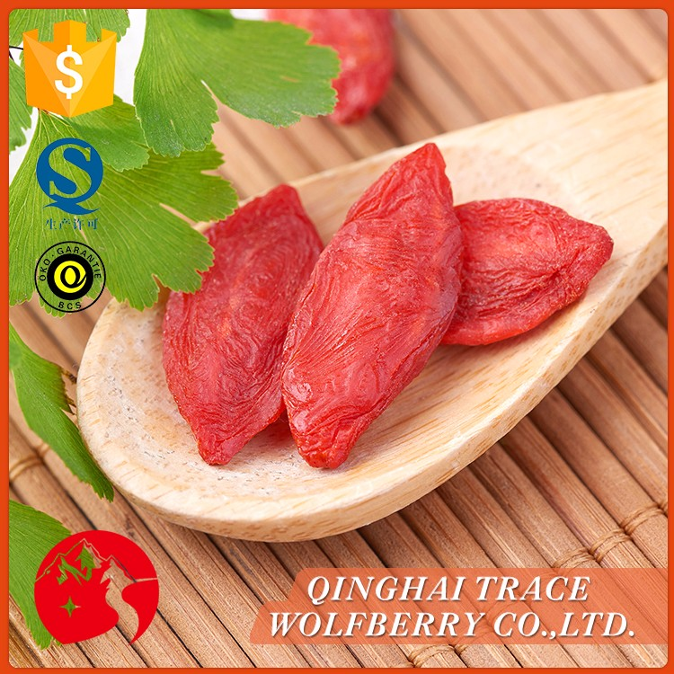 Organic goji berry dried,wholesale wolfberry fruit,lycium fruit