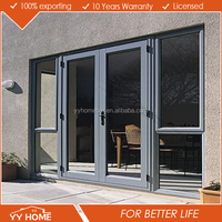 YY Home exterior aluminium french door glass inserts for sale