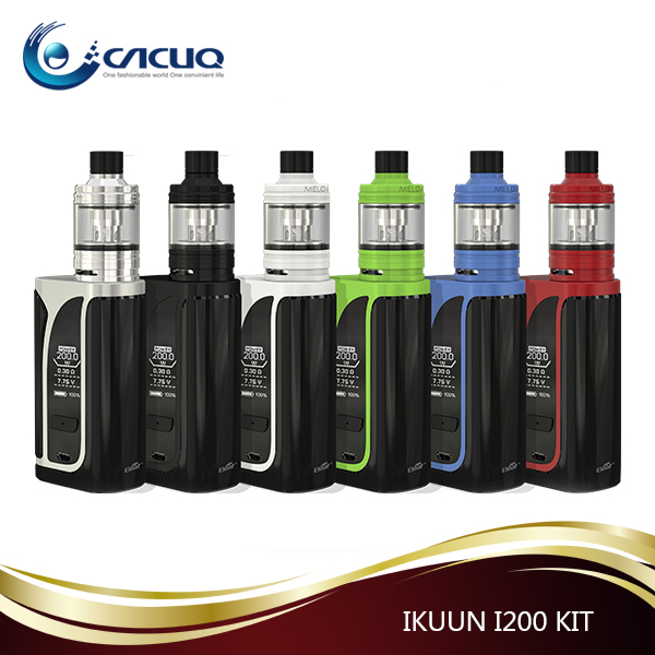 Wholesale 2017 new design products 2ml/4.5ml Eleaf iKuun i200 mod with melo 4 atomizer