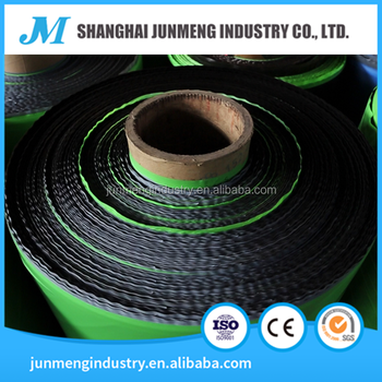 Green & Black HDPE Strength Film/Laminated film sheet, the surface membrane of the asphalt waterproofing membrane