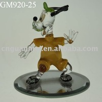 Wholesale dancing glass Mickey Mouse on mirror face