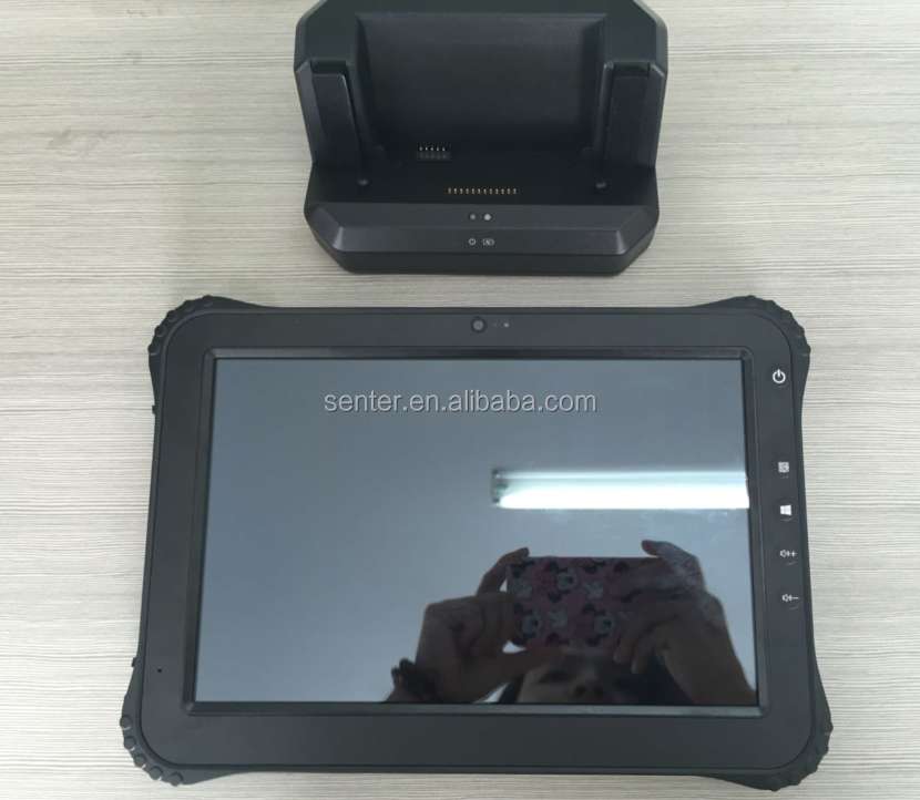 ST935 10.1 inch tough military tablet fingerprint reader tablet Rugged , NFC OTG USB Port Android 4.4/Windows10 3G/4G Wifi