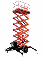 mini scissor lift platform/hydraulic lifting platform/cissor motorcycle lift platform