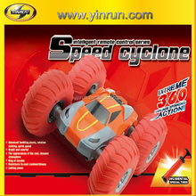 2.4G High stunt car cyclone rc car with big inflatable wheels 1:10