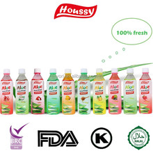 Houssy Tropical Fruits Low calories natural aloe vera soft drink
