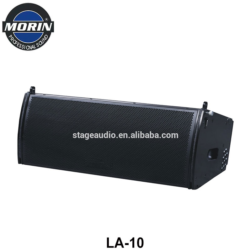 Compact Design Pro Long Throw Passive Middle and High Range Frequency Line array Speaker For Theatre,Disco,Moving Show Morin LA