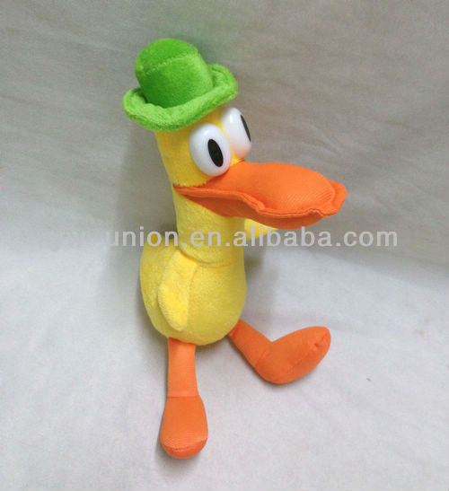 Hot-sale Stuffed Soft Plush Turkey Cartoon Pocoyo Duck