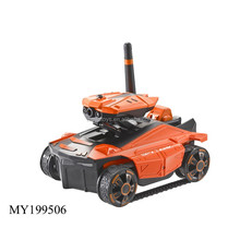 newest 2.4G smart phone control tank car toy kid video wifi car toy with high quality