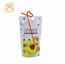 New style Matte BOPP/PET/<strong>PE</strong> Stand Up Drinking pouches Bags With Bottom