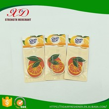 Professional Making Auto Paper Air Freshener Hanging Wholesale