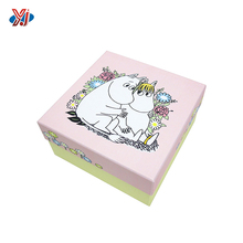 Factory custom made sweet gift packaging box for baby clothes and shoe