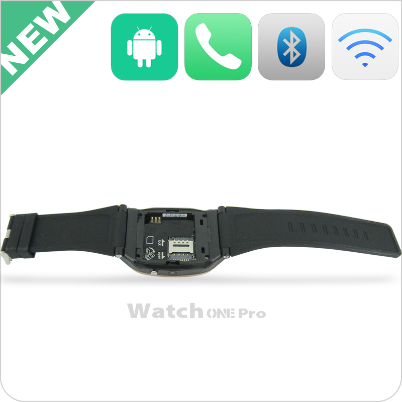 Chinese 1.55 inch boss watch camera sim slot phone call function bluetooth MSN FM Radio mobile watch
