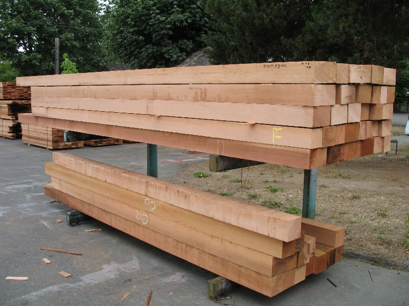 Western Red Cedar Beams and Timber
