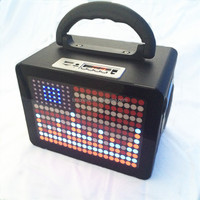 hot selling multimedia speakers cabinet with FM, TF card, bluetooth, wireless microphone, USB Disk socket