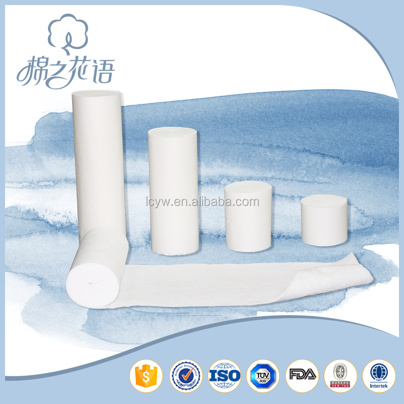 new style wound dressing medical crepe rubber cotton bandage