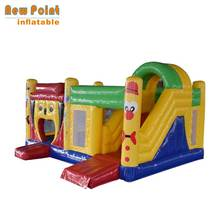 Christmas Promotion New Point Professional Custom Plato 0.55mm PVC Commercial Inflatable Bounce House with 3 Years Warranty