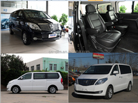 Dongfeng Mitsubishi Engine Technology 7 Seats Front Drive LHD MPV New