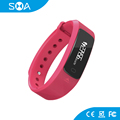 "0.91"" OLED 80mAh 3ATM Smart Bracelet Bluetooth Activity Tracker Wrist Band"
