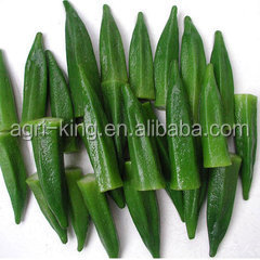 Chinese new prices IQF & Frozen okra chips