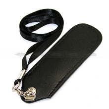 e cig leather lanyard wholesale and small size OEM leather lanyard