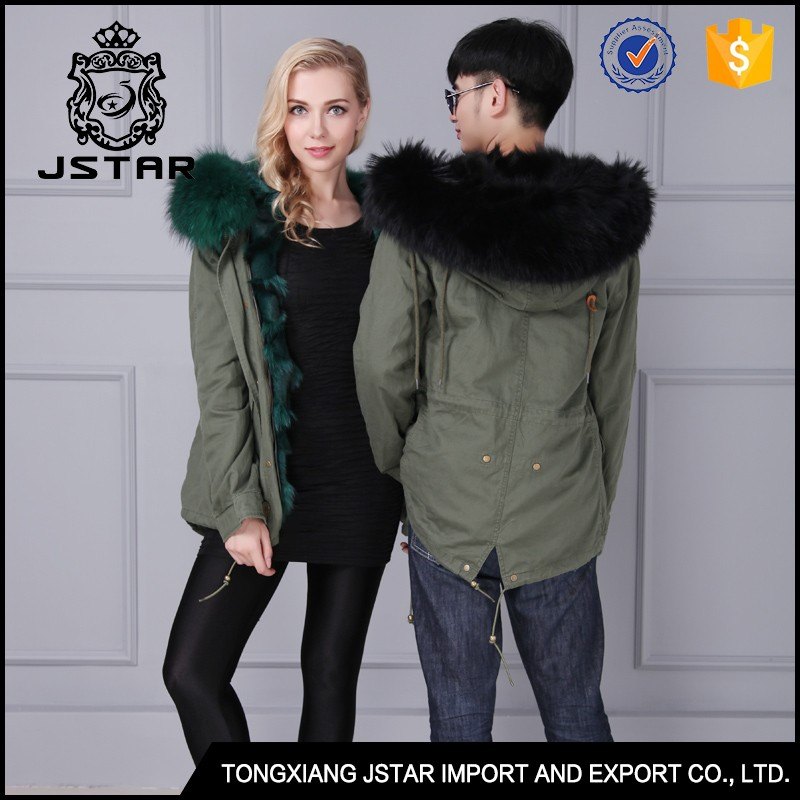 Best Quality fur lined hooded winter jackets for young women