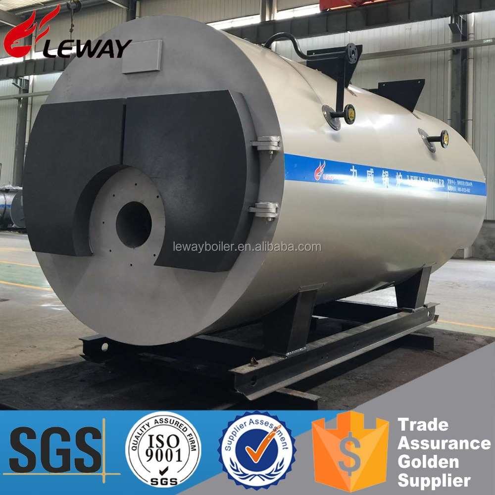 Environmental Protection Industrial 2000KG Gas Fired Steam Boiler For Food/ Textile/ Chemical/ Hotel/ Laundry