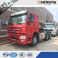 sinotruk howo 6x4 371HP chinese tractor truck euro II engine for sale low price