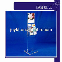 Acrylic brochure display stand