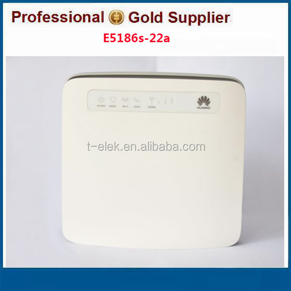 Unlock Huawei E5186-22a 300Mbps LTE CPE 2.4GHz 5GHz Wireless Router Support 64 Users