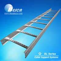 Hot Dip Galvanized NEMA20B Standard Cable Ladder