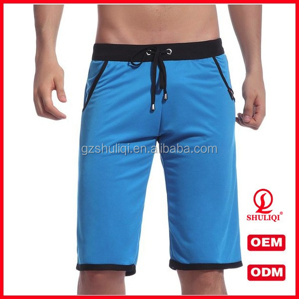cotton anti-wrinkle gay short shorts/ wholesale blank sweat shorts/ mens bermuda shorts
