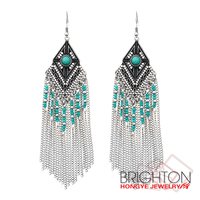 Chains Tassel Dangle Earring E-11398-5300