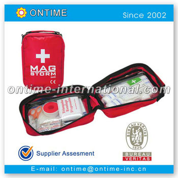 49pc First aid kit, car emergency kit, first aid bag