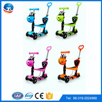 Online shopping baby ride on toys 3 wheels kids scooter child kick scooter 3 in 1