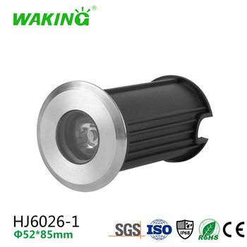 Factory price wholesale 3W waterproof underwater recessed led swimming pool light RGB with CE RoHS