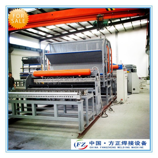 Firm steel wire mesh welding machine for construction