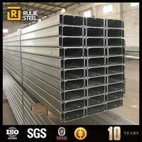 Hot Rolled Perforated Galvanized C Purlin, C Type Steel For Shelves
