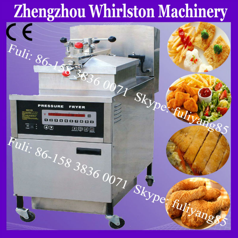 Henny Penny Gas Pressure KFC gari frying machine