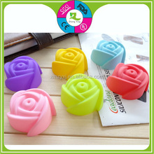 Fashion silicone rose flowerbaking molds,roce silicone cake mold