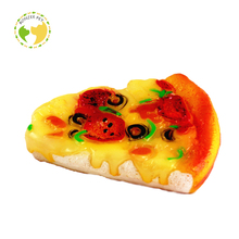 D-0143 Hot Sale Best Quality Pizza Dog Toy Bread Dog Toy SanDwich Dog Toy