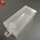 Custom PET PVC PP Square Transparent Foldable Plastic Clear Gift Box with Hook