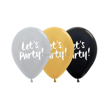 2017 hot selling birthday party decorations shiny latex gold balloon