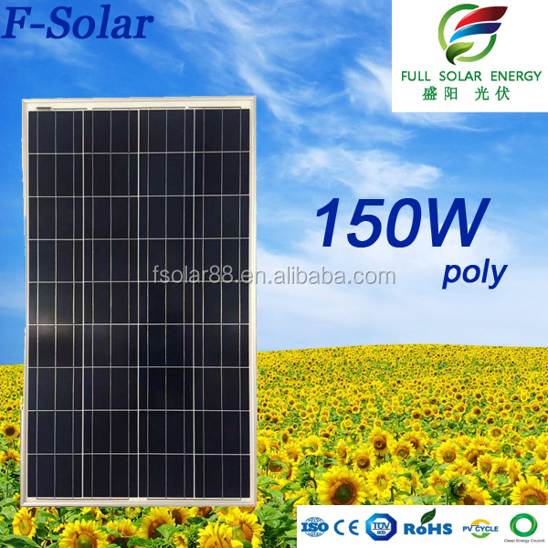 good price popular 150w 12v solar panel manufacturers in china