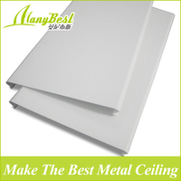 New insulated aluminum roof suspended panels with roller coating