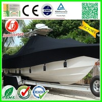 New High quality Light Fastness lightweight plastic boat cover Factory