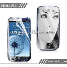 NEW! for samsung galaxy s3 colorful screen protector