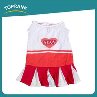TOPRANK New OEM Best Quality Discount Cute Dog Clothes Small Toy Dog Clothes And Accessories