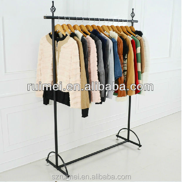 customized tradition practical clothing store display racks